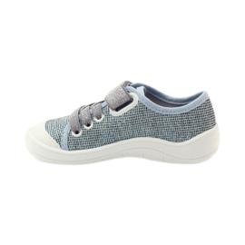 Befado dječje cipele tenisice papuče 251x097 siva plava bijela 2