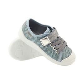 Befado dječje cipele tenisice papuče 251x097 siva plava bijela 3