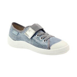 Papuče tenisice Befado 251y088 siva plava bijela 1