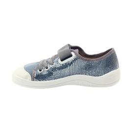 Papuče tenisice Befado 251y088 siva plava bijela 2