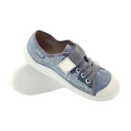 Papuče tenisice Befado 251y088 siva plava bijela 3