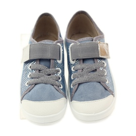 Papuče tenisice Befado 251y088 siva plava bijela 4