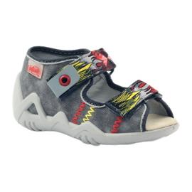 Befado dječje cipele papuče sandale 350P073 siva 1