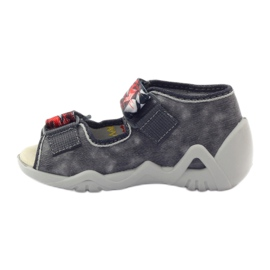 Befado dječje cipele papuče sandale 350P073 siva 2
