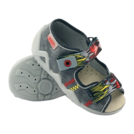 Befado dječje cipele papuče sandale 350P073 siva 3