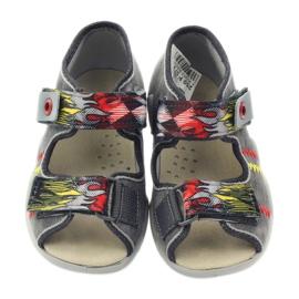 Befado dječje cipele papuče sandale 350P073 siva 4