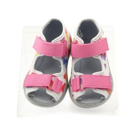 Befado dječje cipele sandale sandale 242p075 ružičasta siva 4