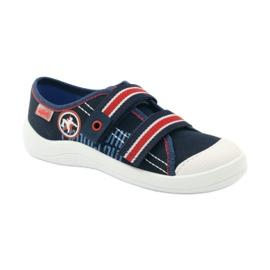 Papuče za dječake tenisice Befado 672Y058 mornarsko plava crvena bijela 1