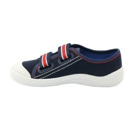 Papuče za dječake tenisice Befado 672Y058 mornarsko plava crvena bijela 2
