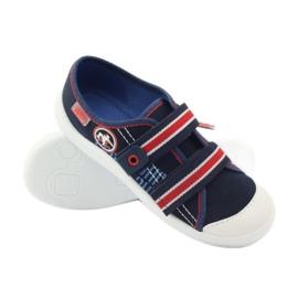 Papuče za dječake tenisice Befado 672Y058 mornarsko plava crvena bijela 3