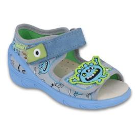 Befado pu 433P031 dječja obuća plava siva 1