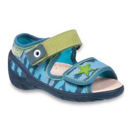 Befado pu 433P023 dječje cipele zelena plava 1