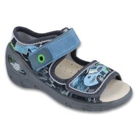 Dječje cipele Befado pu 433P028 siva plava 1
