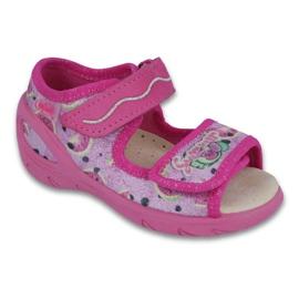 Befado dječje cipele pu 433X030 ružičasta 1