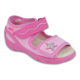 Befado dječje cipele pu 433X032 ružičasta 1