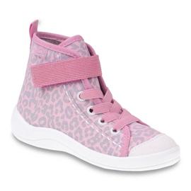 Dječje cipele Befado 268X057 ružičasta siva 1