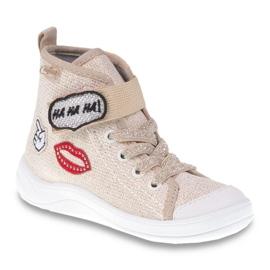Dječje cipele Befado 268X069 smeđa siva 1