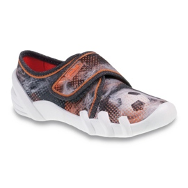 Dječje cipele Befado 273X225 siva naranča 1