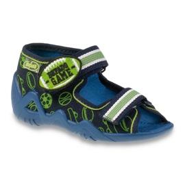 Befado zelena dječja obuća 250P070 mornarsko plava 1