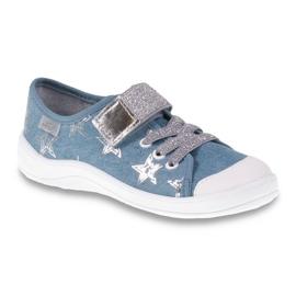 Dječje cipele Befado 251Q094 siva plava 1