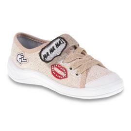 Dječje cipele Befado 251Q098 bež zlatna 1