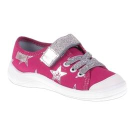 Dječje cipele Befado 251X096 ružičasta siva 1