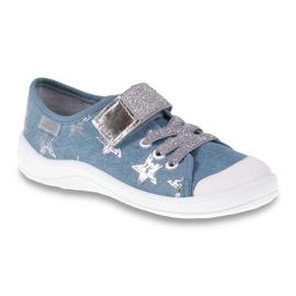Dječje cipele Befado 251Y094 siva plava 1