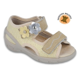 Befado dječje cipele pu 065X121 žuti 1