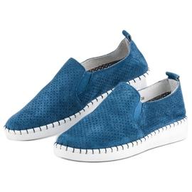 Filippo Otvorene klizne cipele plava 3