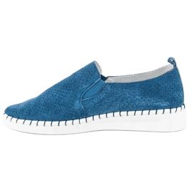 Filippo Otvorene klizne cipele plava 1