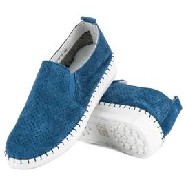 Filippo Otvorene klizne cipele plava 2