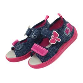 American Club Američke dječje cipele sandale od leptir kože 4