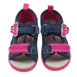 American Club Američke dječje cipele sandale od leptir kože 3
