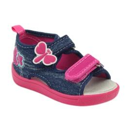 American Club Američke dječje cipele sandale od leptir kože 1