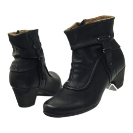 Čizme crne super udobne Aloeloe crna 5