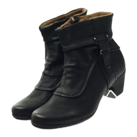 Čizme crne super udobne Aloeloe crna 4