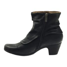 Čizme crne super udobne Aloeloe crna 2