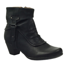 Čizme crne super udobne Aloeloe crna 1