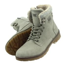 Sive, vezane cipele DK2025 siva 4