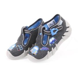 Dječje papuče Befado 110P341 sive 3
