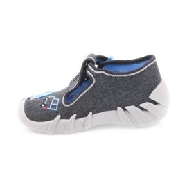 Dječje papuče Befado 110P341 sive 2