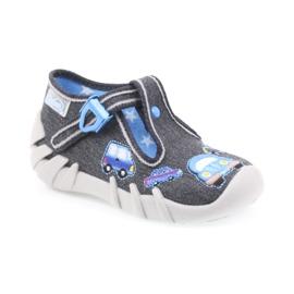 Dječje papuče Befado 110P341 sive 1