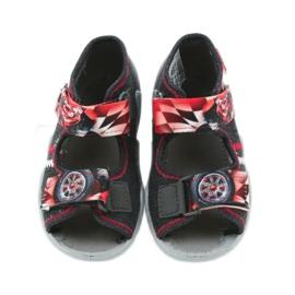 Befado dječje cipele sandale papuče 250p055 crvena siva 4