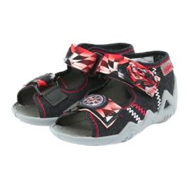 Befado dječje cipele sandale papuče 250p055 crvena siva 3
