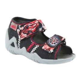 Befado dječje cipele sandale papuče 250p055 crvena siva 1