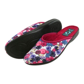 Papuče od velura Adanex 23773 šaren 5