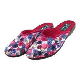 Papuče od velura Adanex 23773 šaren 4