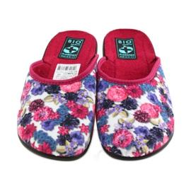 Papuče od velura Adanex 23773 šaren 3