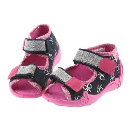 Dječje cipele Befado papuče 242P089 mornarsko plave boje 4
