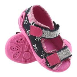Dječje cipele Befado papuče 242P089 mornarsko plave boje 3
